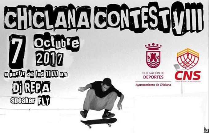 El Chiclana Contest VIII, segunda prueba del circuito nacional de skateboarding