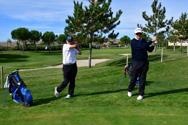 Golf familiar en estado puro: Abuelo y nieto en el mismo equipo de alta competición