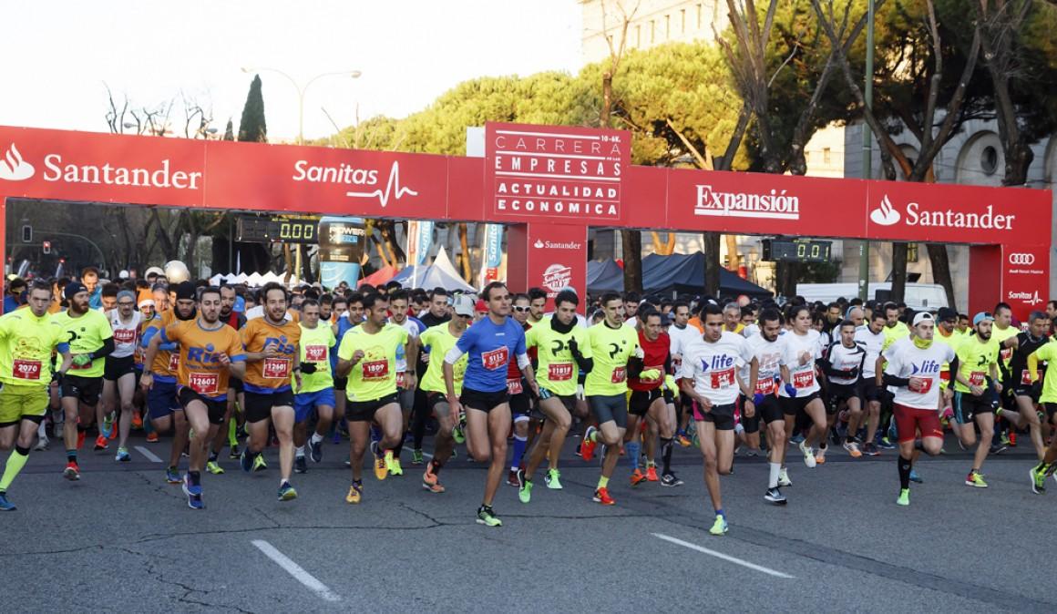 Vuelve a Madrid la tradicional Carrera de Las Empresas