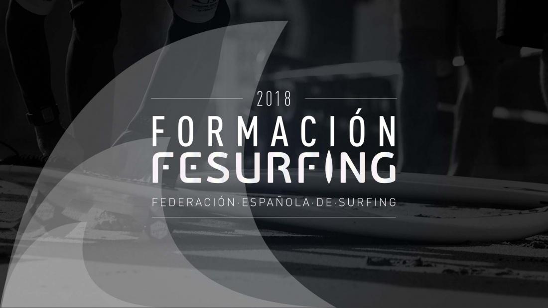La Federación Española de Surfing anuncia su oferta formativa para la temporada 2018