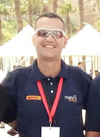 """Juan José Juste, delegado técnico del Triatlón de Larache: """"La competición transmite sensaciones, sonidos y ambientes que los atletas deben sentir"""""""