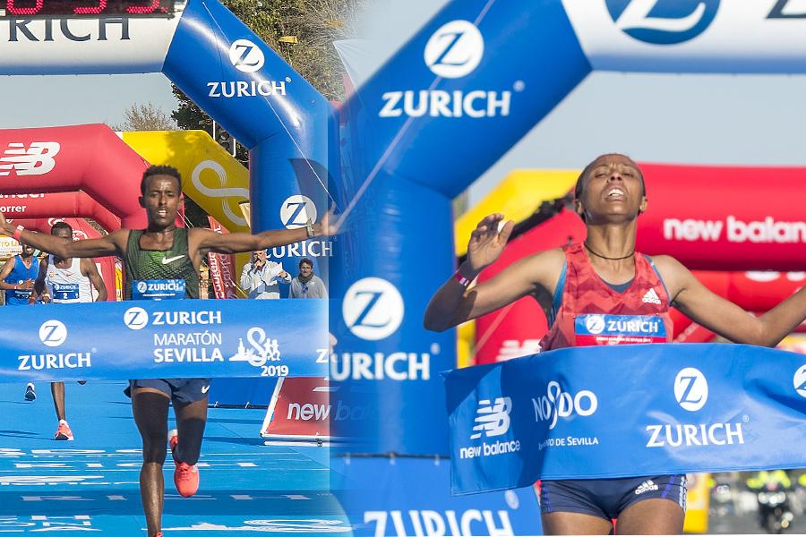 Zurich Maratón de Sevilla, una carrera de récords