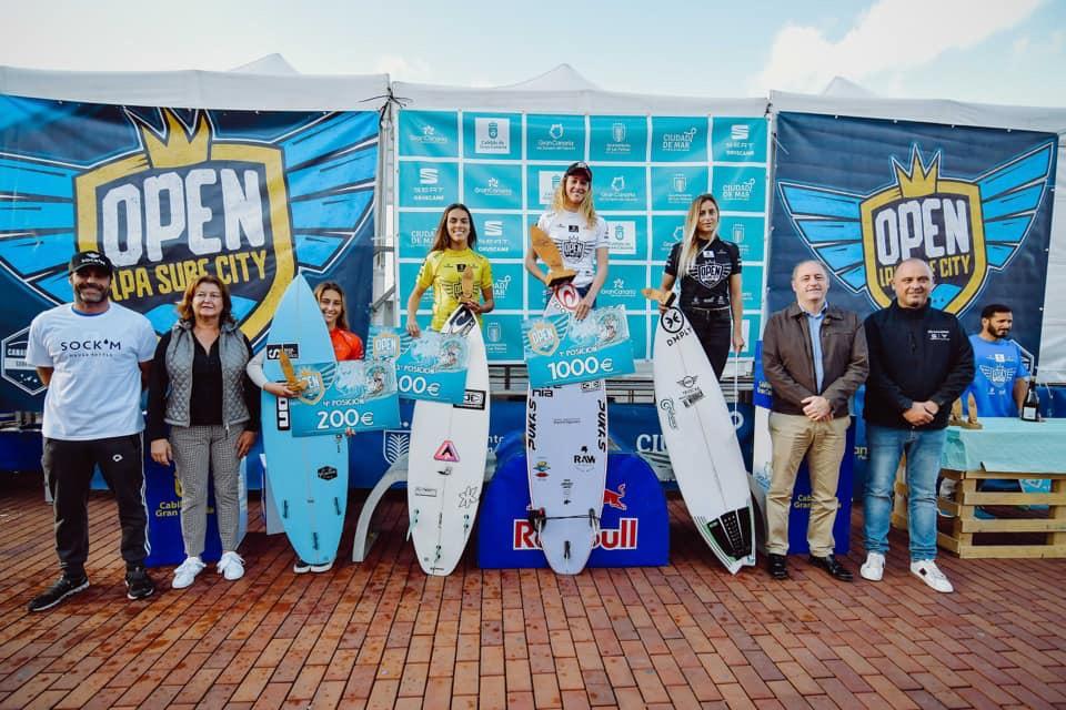 Melania Suárez gana el Open LPA Surf 2019 y concluye segunda en la Liga Iberdrola FESurfing