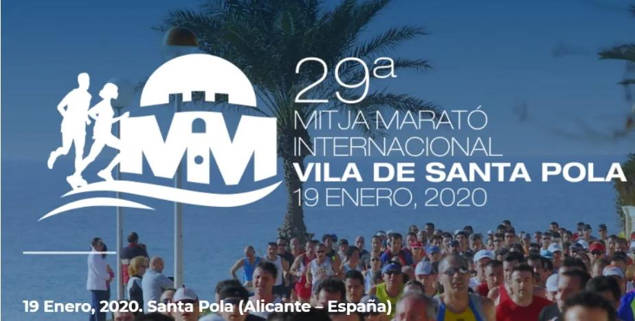 Este fin de semana se esperan más de 5.500 corredores en la Mitja Marató de Santa Pola