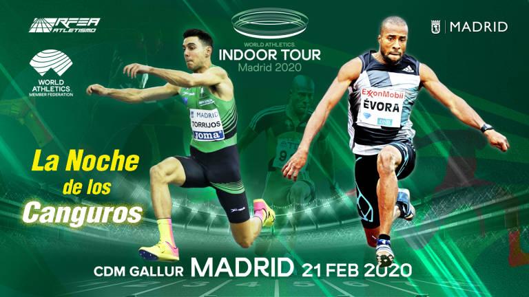 El triple saltador Nelson Évora estará presente en el Meeting villa de Madrid